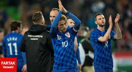لوکا مودریچ کاپیتان جدید تیم ملی کرواسی شد