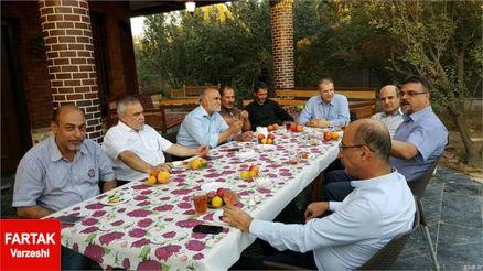 مدیران سابق استقلال در باغ نظری جویباری!