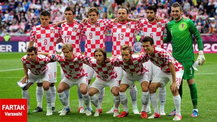 لیست اولیه تیم ملی کرواسی برای جام جهانی 2018 روسیه