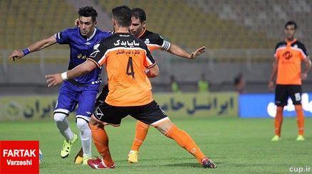 اولین پنالتی لیگ شانزدهم را خوزستانی ها دشت کردند