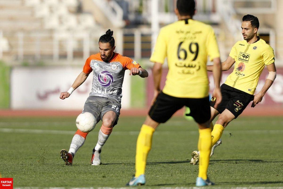شفیعی با پیراهن سایپا به فوتبال برگشت