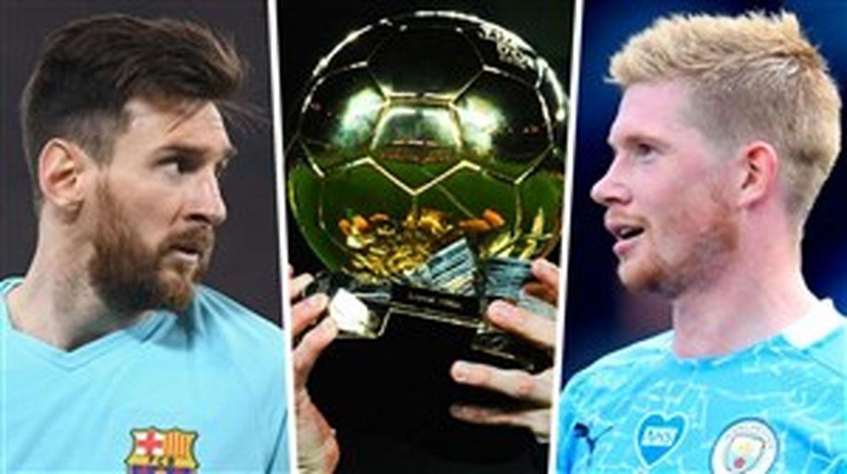 نامزدهای توپ طلای یک بایرنی: مسی، رونالدو، دیبروین