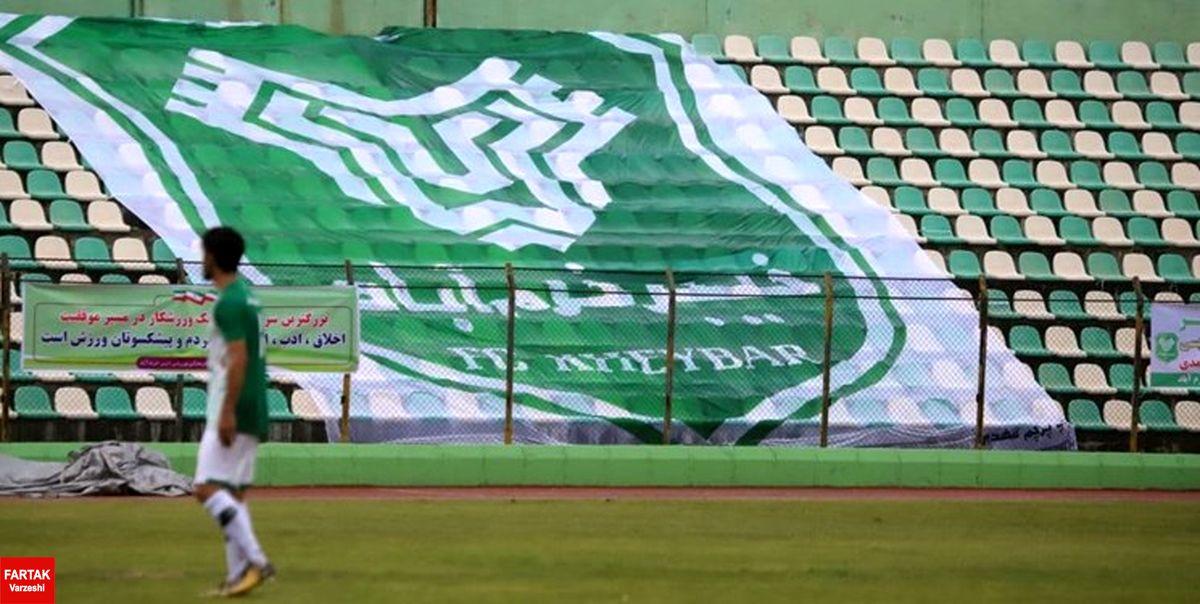 خیبر میزبان نفت آبادان در جام حذفی شد