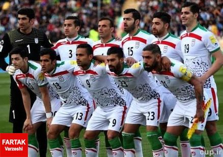 گاف کنفدراسیون فوتبال آسیا در اعلام شماره پیراهن تیم ملی ایران