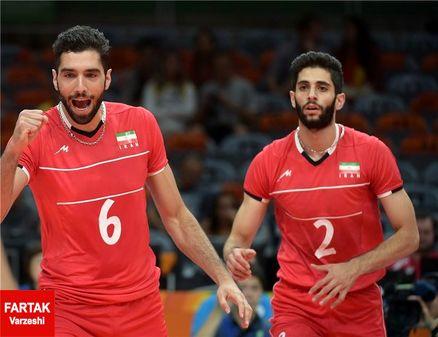 اظهار نظر والیبالیست های ایران بعد از صعود به جمع 8 تیم برتر المپیک