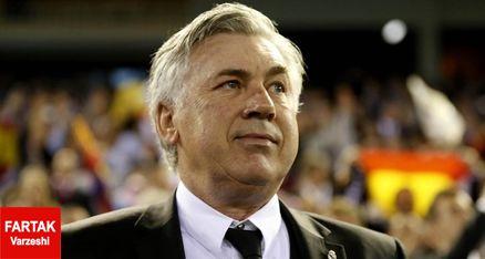 آنچلوتی: نمی خواهم بازی به پنالتی بکشد