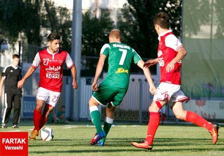 تساوی3-3 در نیمه اول بازی پرسپولیس-آرسنال