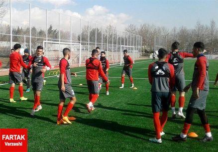 گزارش تمرین تیم امید/ بازگشت طاهرخانی بعد از یک روز غیبت؛ صیادمنش تمرین را ترک کرد