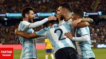 طلسم 16 ساله کابوس مسی و آرژانتینی ها!