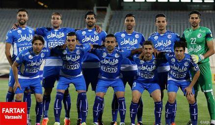 ترکیب تیم استقلال تهران اعلام شد