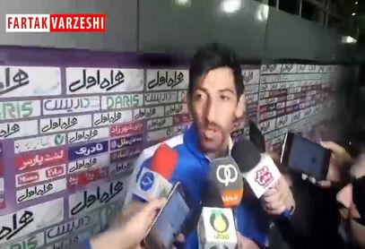 تبریزی: خوشحالم که گل زدم/ بازی سختی برابر نساجی داشتیم
