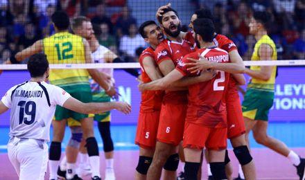 لیگ ملتهای والیبال 2018| ناکامی چشم بادامیها مقابل شاگردان کولاکوویچ