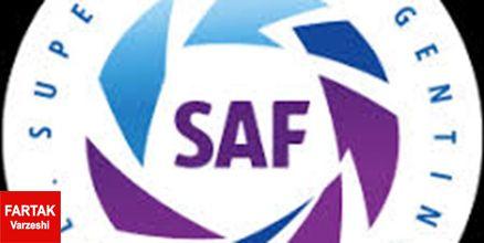 لیگ فوتبال آرژانتین تعلیق شد