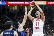 پیروزی دشوار چین مقابل کره در جام جهانی بسکتبال