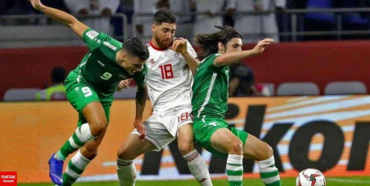 ورزشگاه میزبان دیدار عراق با ایران تغییر کرد