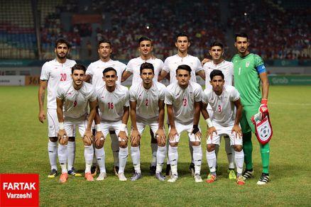 پیروزی یک نیمهای تیم امید مقابل کویت