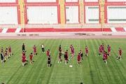 برگزاری آخرین تمرین تراکتور قبل بازی مقابل نفت آبادان